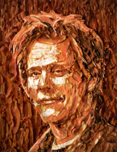 Kevin Bacon... in bacon?