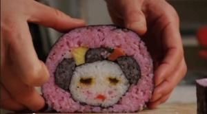 A panda-bear roll.